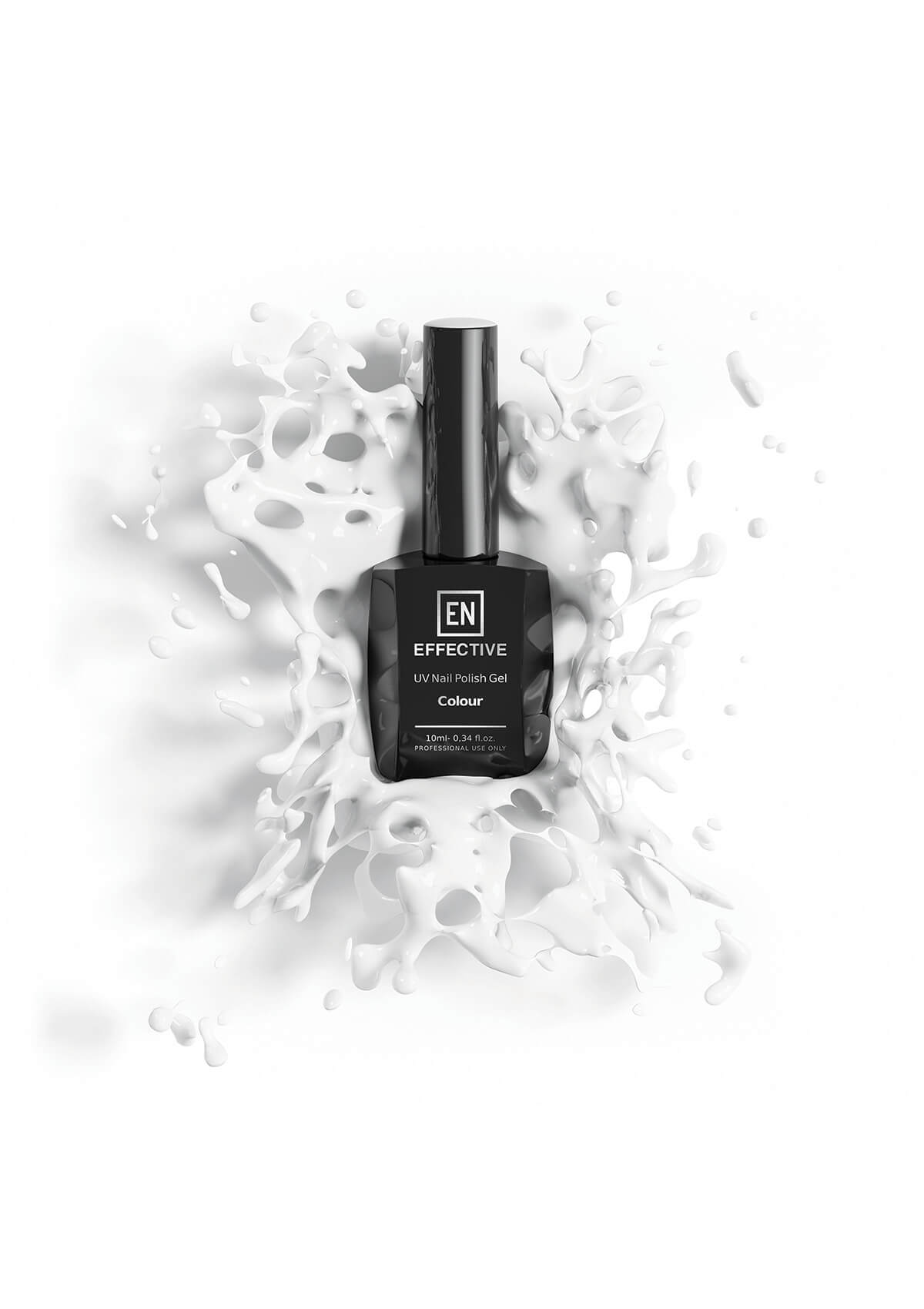 uv nail polish gel 3d product visualization photorealistic high quality picture
